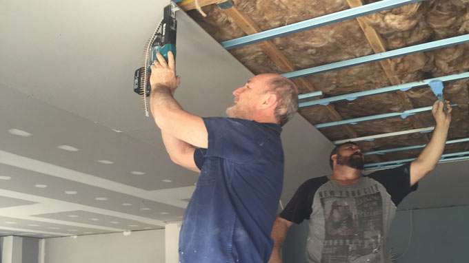 gyprocker ceiling installers sydney near me